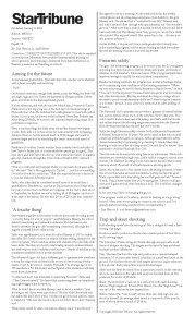 Download StarTribune's January 9, 2003 story.